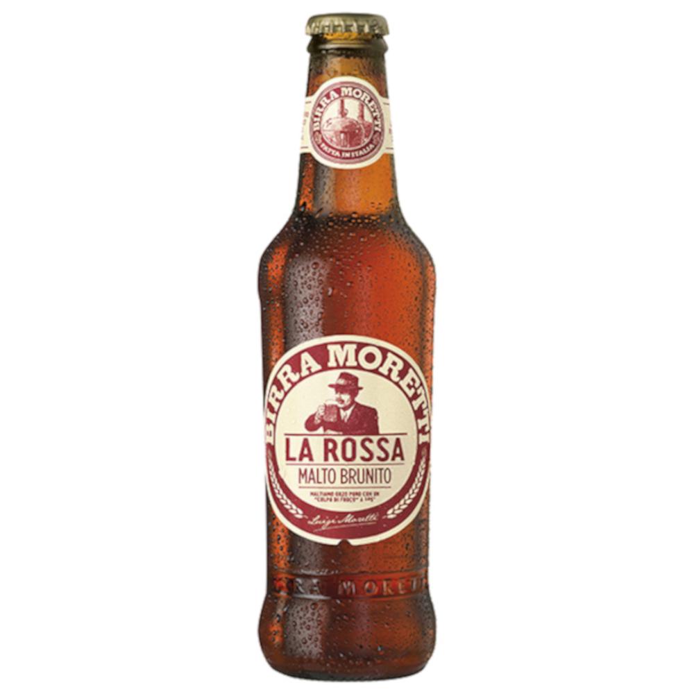 BEER MORETTI LA ROSSA 7.2  GP  33 CL IN CLUSTER 3 X 8 BOTTLES
