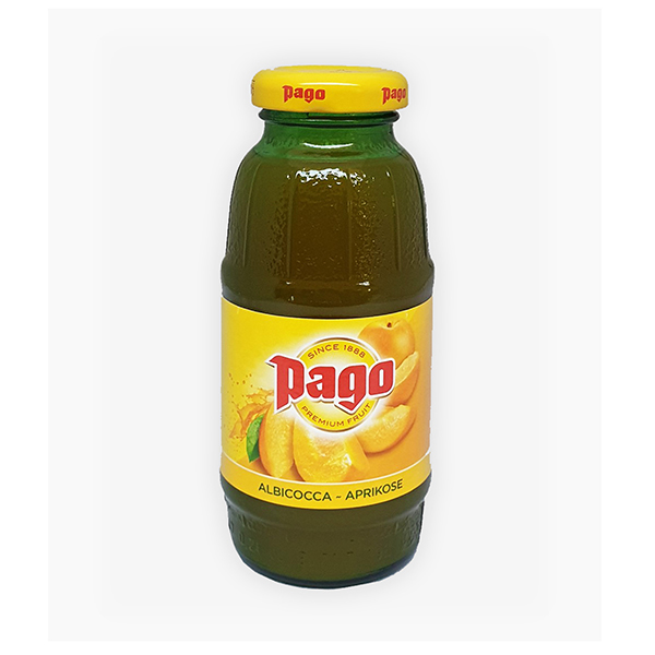 PAGO APRICOT JUICE CL.20       IN GLASS BOTTLE