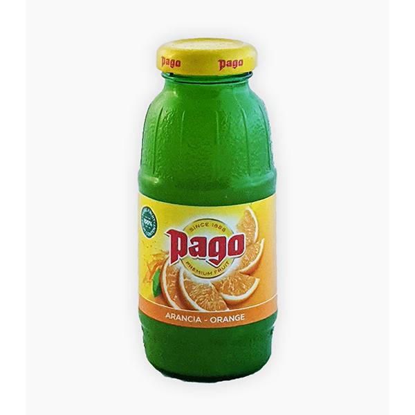PAGO ORANGE JUICE CL.20        IN GLASS BOTTLE