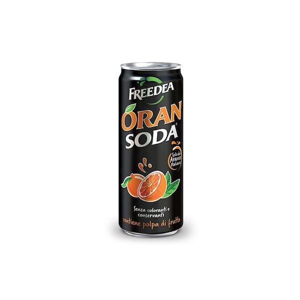 ORANSODA SOFTDRINK 33 CL       IN SLEEK CAN