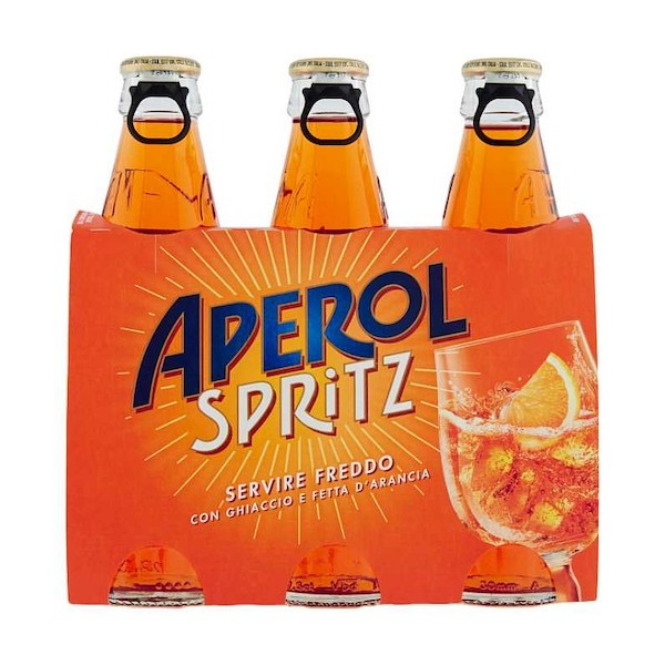 APEROL SPRITZ COCKTAIL 9%VOL   CL.17.5 CLUSTER 3 BOTT. X 8