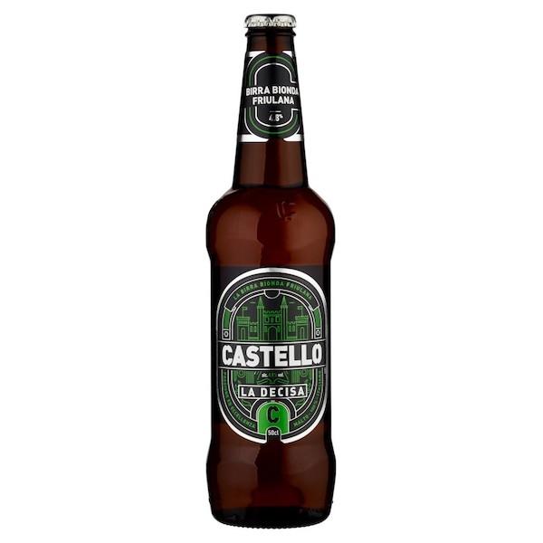 BIRRA CASTELLO LA DECISA 33CL  X 24 BOTT 4.8%VOL 11.00 GP