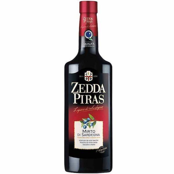 AROMATIC LIQUOR MIRTO ZEDDA    PIRAS 32% VOL 70CL X6 GLASS BT