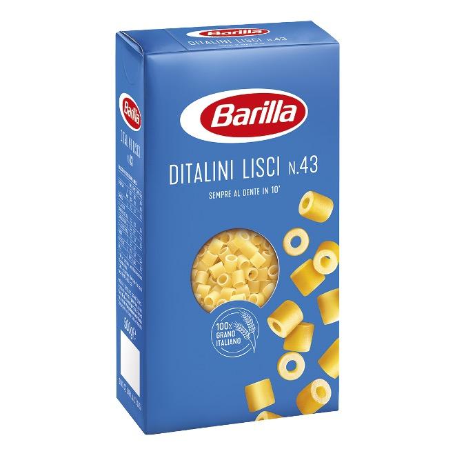 PASTA BARILLA DITALINI LISCI   500GX24
