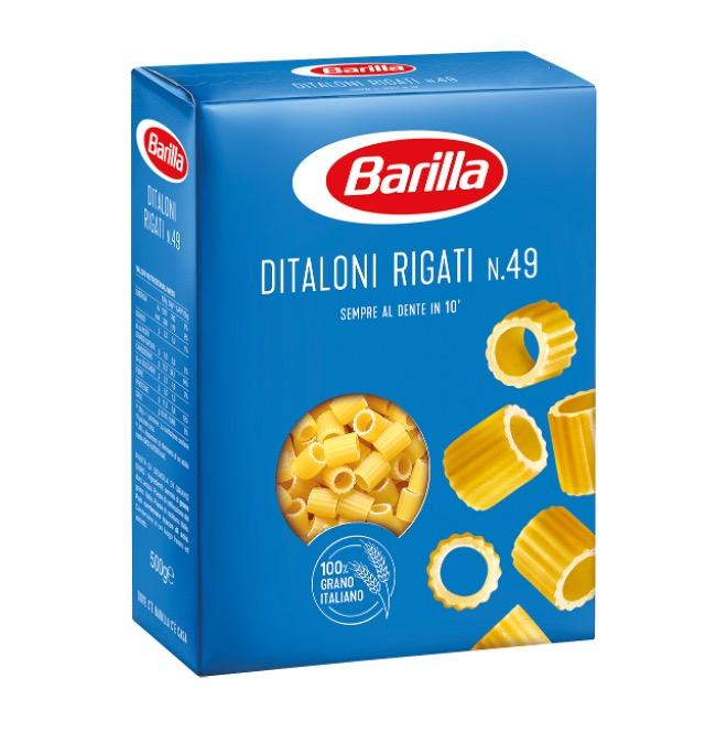 PASTA BARILLA DITALONI RIGATI  500GX30