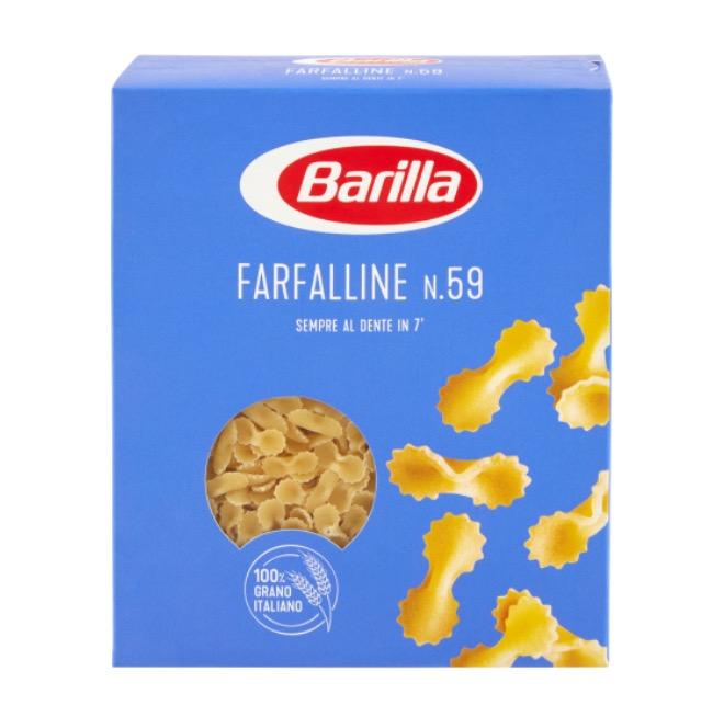 PASTA BARILLA FARFALLINE SEMOL A 500GX15