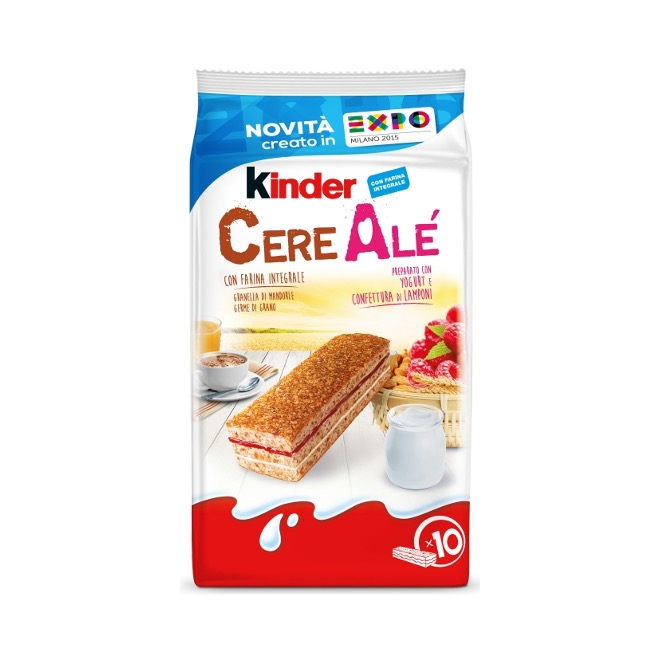 KINDER CERE ALE' LAMPONE 27.5G T10 X 12