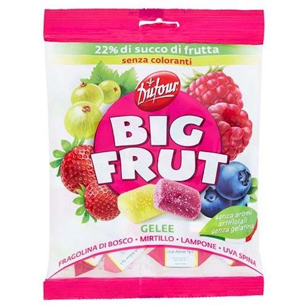 DUFOUR BIG FRUIT GELEE FRUTTI  DI BOSCO 90 G X 14