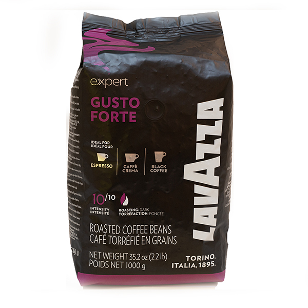 LAVAZZA COFFEE BEANS GUSTO     FORTE BAG 1000G X 6