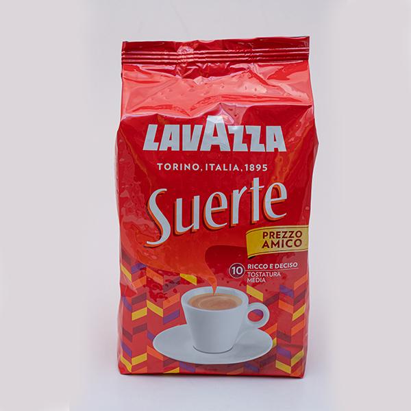 CAFFE LAVAZZA SUERTE IN GRANI  1000G X 6