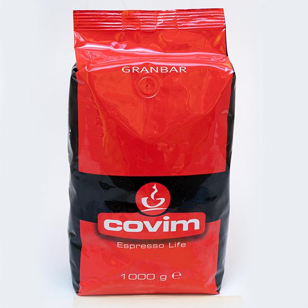 LAVAZZA COFFEE BEANS COVIM     GRANBAR BAG 1000G X 6