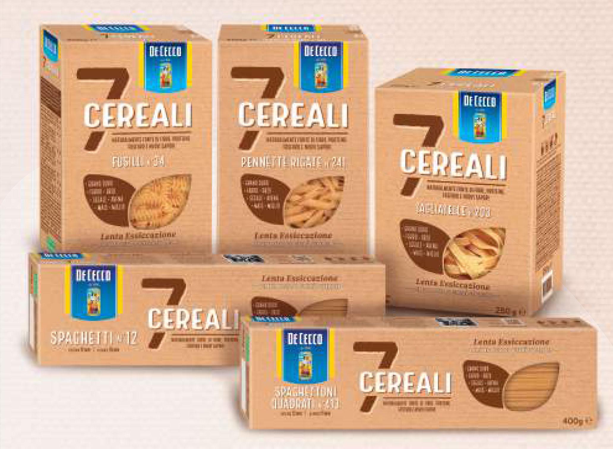 De Cecco 7 cereals pasta
