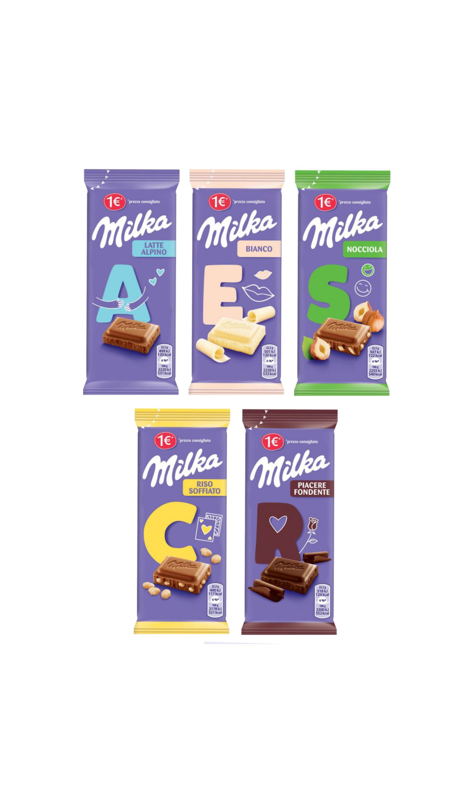 Milka & Go 45 gr chocolate bar