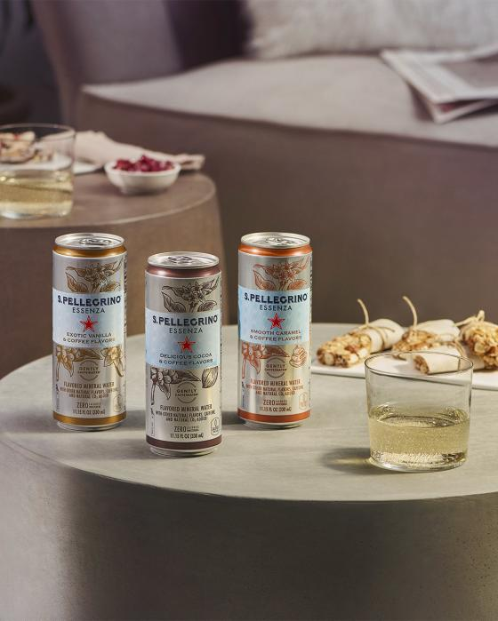 S.Pellegrino Essenza Coffee-Inspired Flavors
